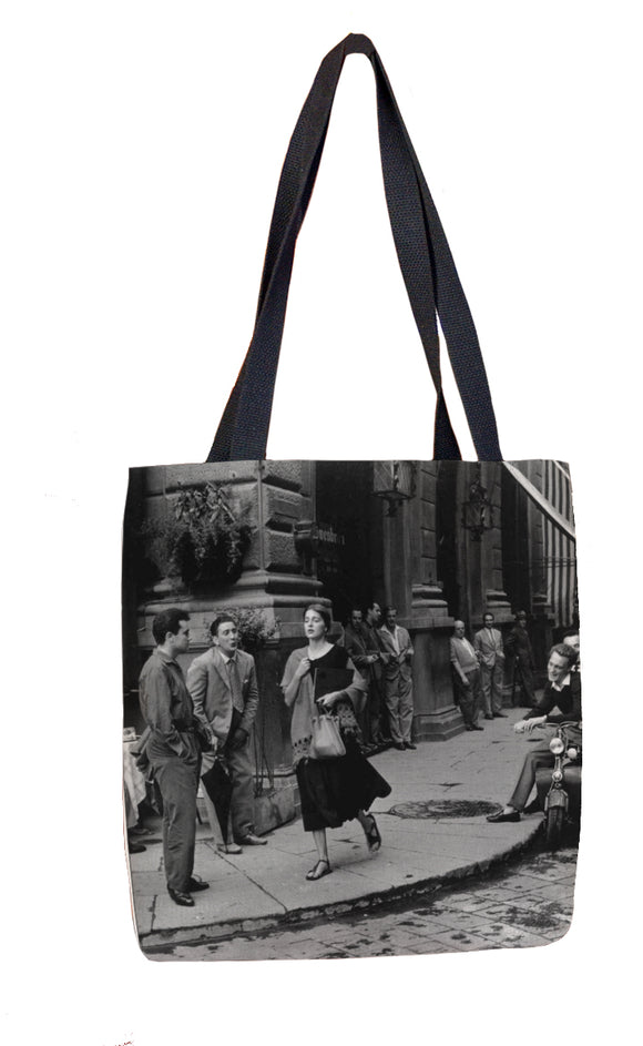 American Girl in Itlay Tote Bag - ImageExchange