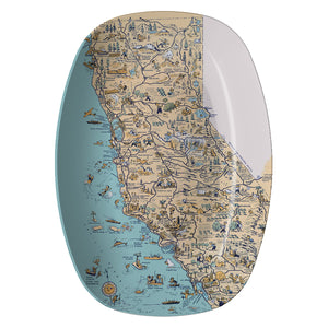 Golden State Resin Serving Dish - ImageExchange