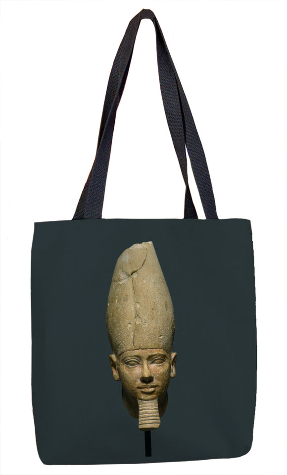 Head of King Userkaf Tote Bag - ImageExchange