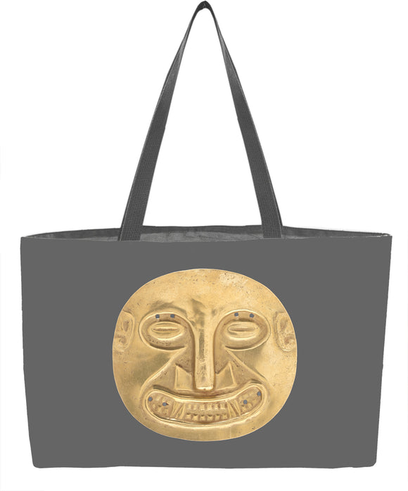 Ornament from Sitio Conte: Small Plaque Tote Bag - ImageExchange