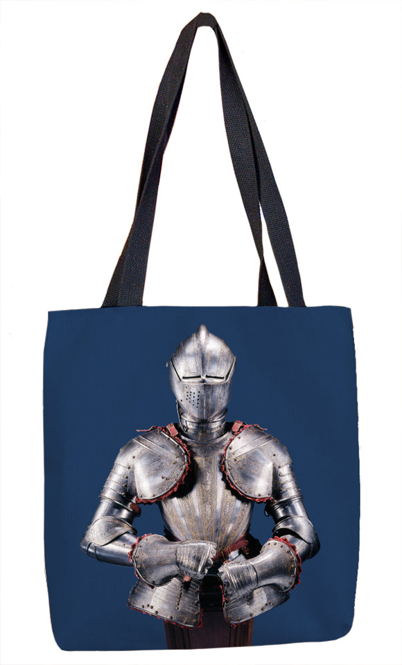 Half Armor for the Foot Tournament Tote Bag - ImageExchange