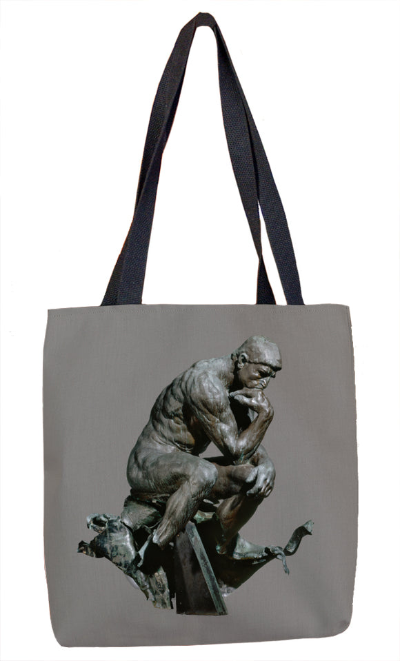 The Thinker Tote Bag - ImageExchange