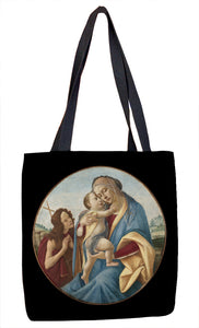 Virgin and Child with the Young Saint John the Baptist Tote Bag - ImageExchange
