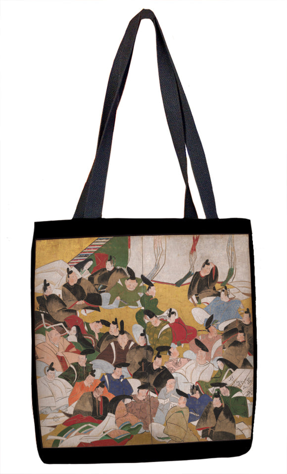 Thirty-Six Immortal Poets Tote Bag - ImageExchange