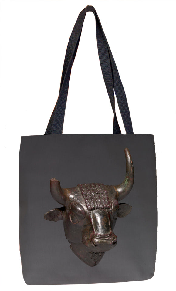 Bull Head Attachment Tote Bag - ImageExchange
