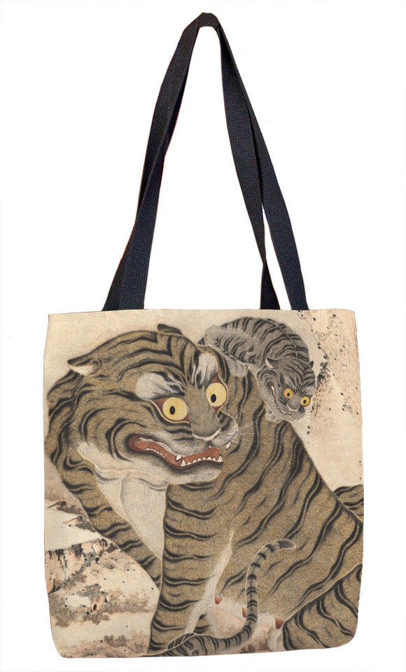 Tiger Family Tote Bag - ImageExchange