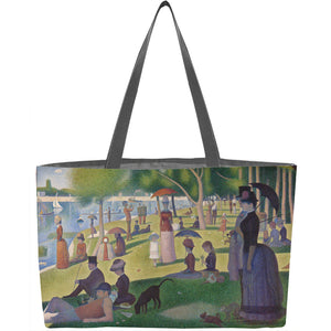 A Sunday on La Grande Jatte Weekender Tote - ImageExchange