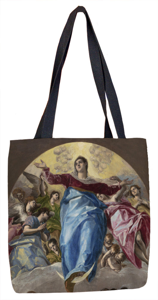 The Assumption of the Virgin Tote Bag - ImageExchange