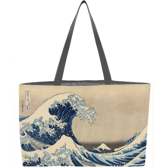 Under the Wave off Kanagawa Weekender Tote - ImageExchange
