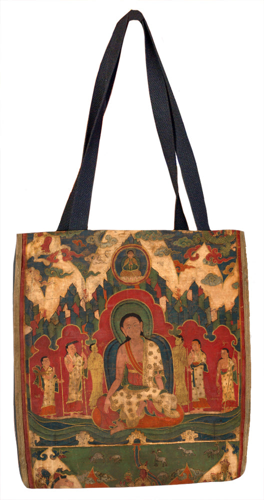 Milarepa on Mount Kailash Tote Bag - ImageExchange