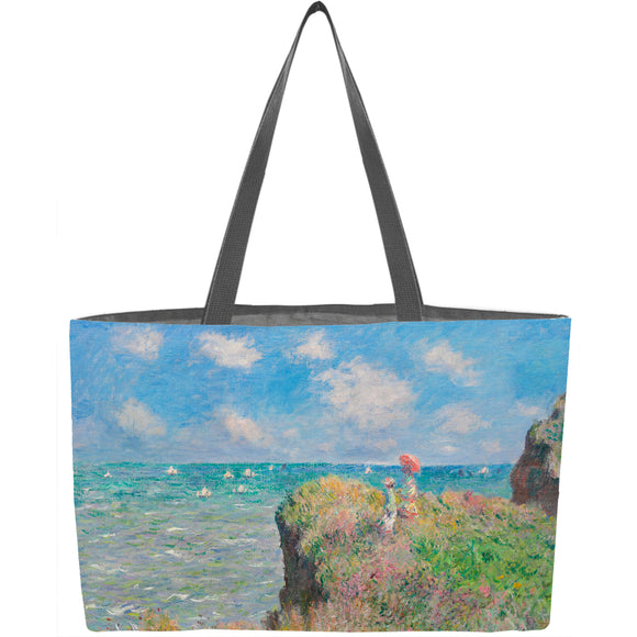 Cliff Walk at Pourville Weekender Tote - ImageExchange