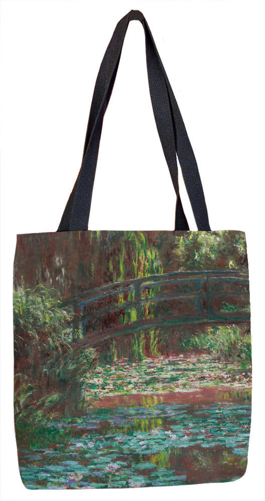 Water Lily Pond Tote Bag - ImageExchange