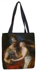 Allegory of Peace and War Tote Bag - ImageExchange