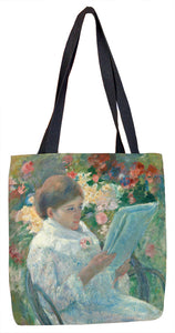 On a Balcony Tote Bag - ImageExchange