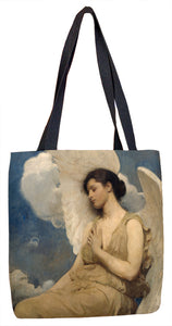 Winged Figure Tote Bag - ImageExchange