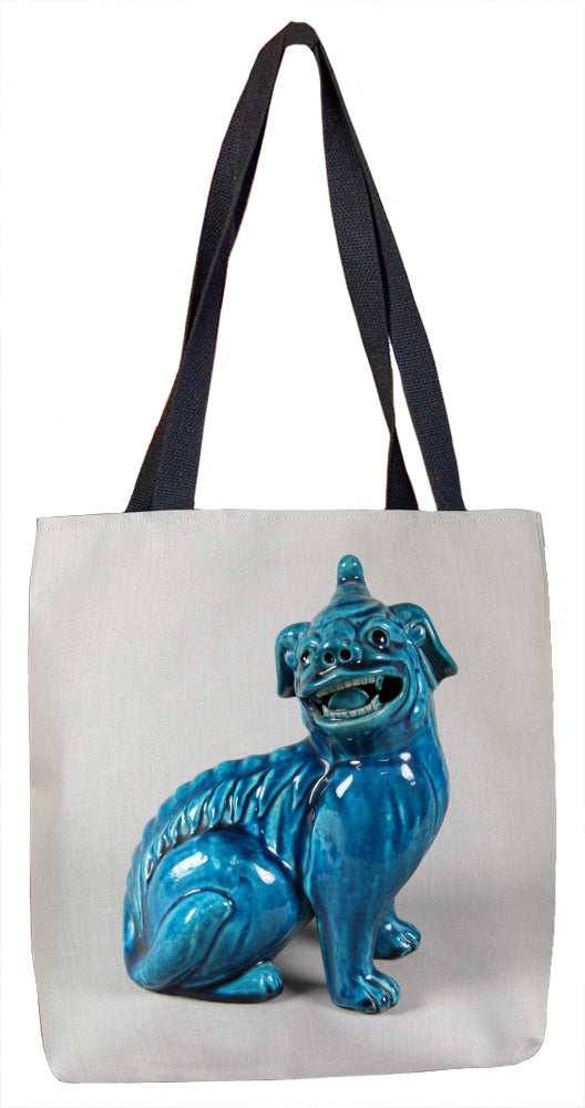 Figure of a Dog Tote Bag - ImageExchange