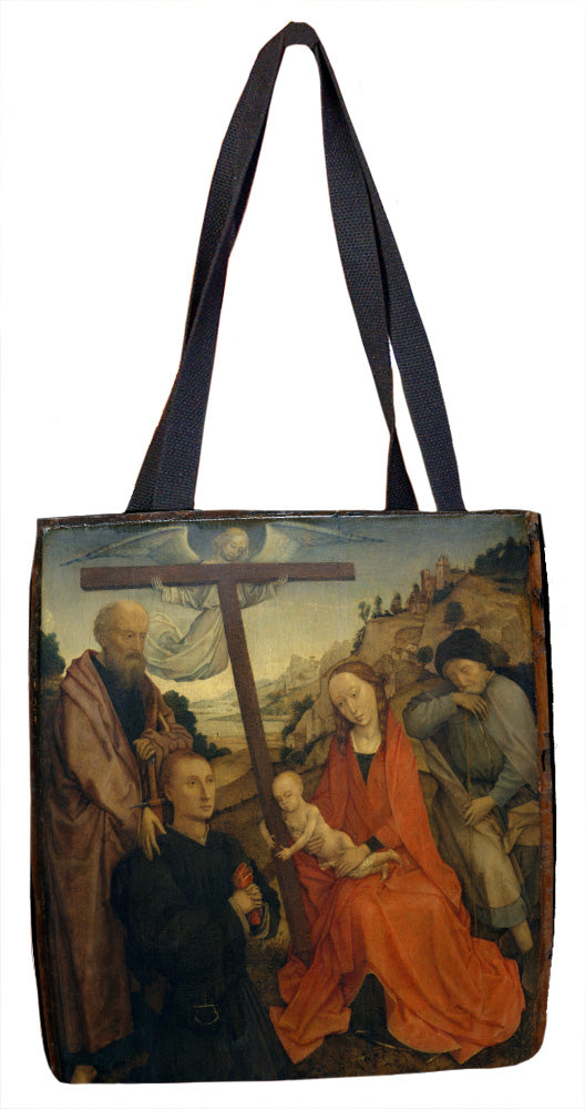 The Holy Family with Saint Paul and a Donor Tote Bag - ImageExchange