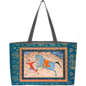 Royal Horse and Runner Weekender Tote - ImageExchange