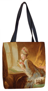 The Love Letter Tote Bag - ImageExchange