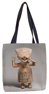 """Smiling"" Figure Tote Bag - ImageExchange"