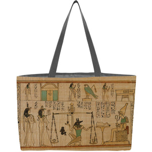 Book of the Dead for the Singer of Amun, Nany Weekender Tote - ImageExchange