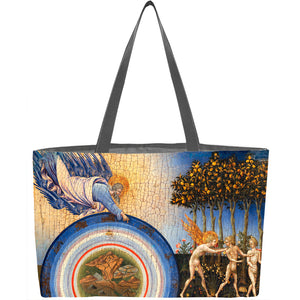 The Creation of the World and the Expulsion from Paradise Tote Bag - ImageExchange