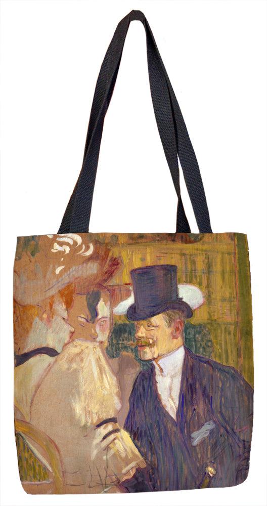 The Englishman (William Tom Warrener, 1861-1934) at the Moulin Rouge Tote Bag - ImageExchange
