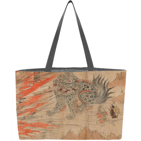 Illustrated Legends of the Kitano Tenjin Shrine (Kitano Tenjin engi emaki) Weekender Tote - ImageExchange