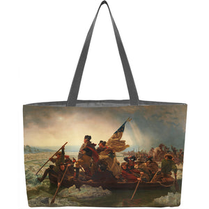 Washington Crossing the Delaware Weekender Tote - ImageExchange