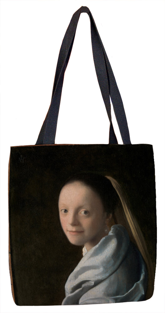 Study of a Young Woman Tote Bag - ImageExchange