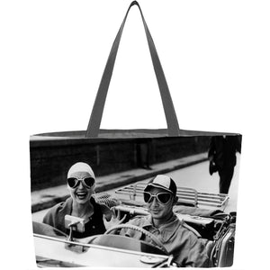 Couple in MG Everything Tote - ImageExchange