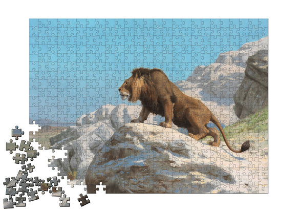 Lion on the Watch Puzzle - ImageExchange