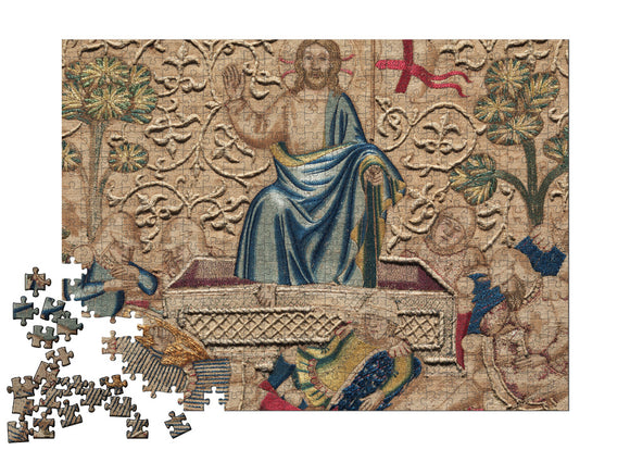 The Resurrection, from an Embroidered Altar Frontal Puzzle - ImageExchange