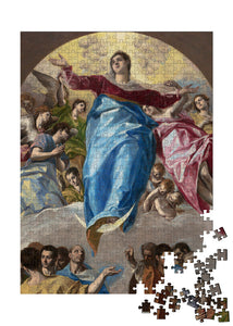 The Assumption of the Virgin Puzzle - ImageExchange