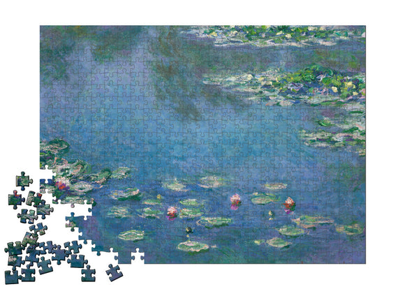 Water Lilies Puzzle - ImageExchange