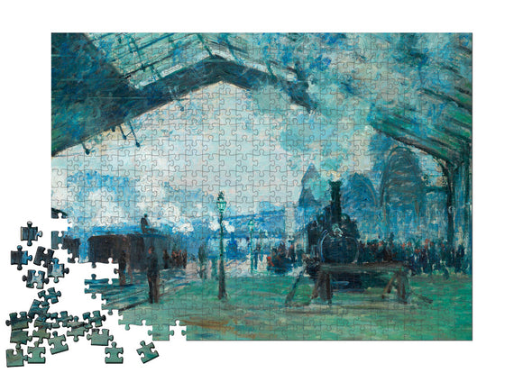 Arrival of the Normandy Train, Gare Saint-Lazare Puzzle - ImageExchange