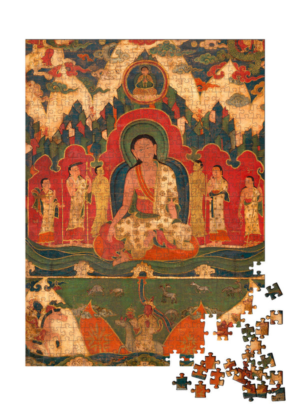 Milarepa on Mount Kailash Puzzle - ImageExchange