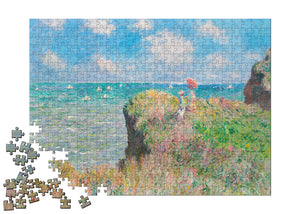 Cliff Walk at Pourville Puzzle - ImageExchange