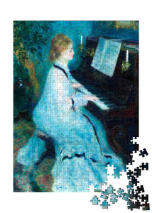Woman at the Piano Puzzle - ImageExchange