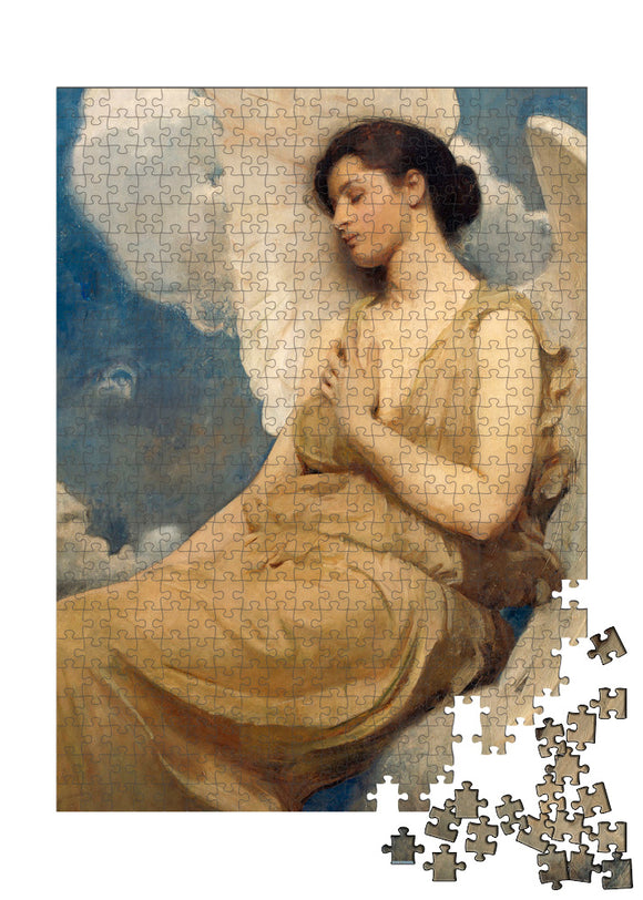 Winged Figure Puzzle - ImageExchange