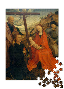 The Holy Family with Saint Paul and a Donor Puzzle - ImageExchange