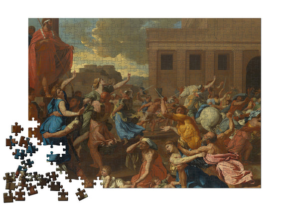 The Abduction of the Sabine Women Puzzle - ImageExchange