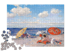 At the Seaside Puzzle - ImageExchange