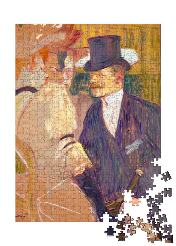 The Englishman (William Tom Warrener, 1861Ð1934) at the Moulin Rouge Puzzle - ImageExchange