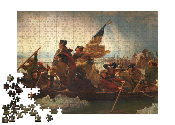 Washington Crossing the Delaware Puzzle - ImageExchange