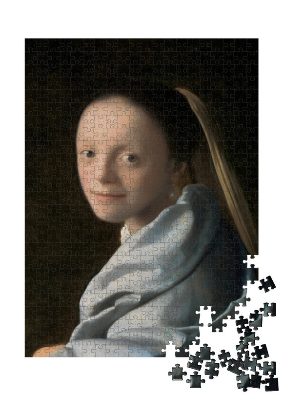 Study of a Young Woman Puzzle - ImageExchange