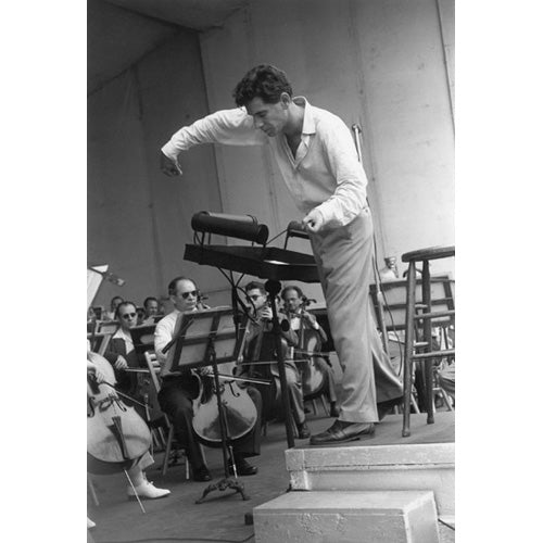 Leonard Bernstein, New York City, 1947 Photograph - ImageExchange