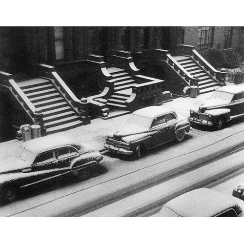 White Stoops, New York City, 1952 Photograph - ImageExchange