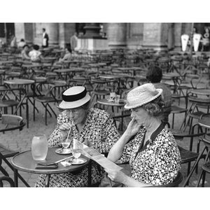 Two American Tourists, Rome, 1951 Photograph - ImageExchange