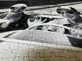 Couple in MG, Florence, 1951 Puzzle - ImageExchange